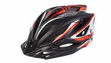 Helmet Crussis, black / orange / white