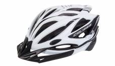 Helmet Crussis, white / black